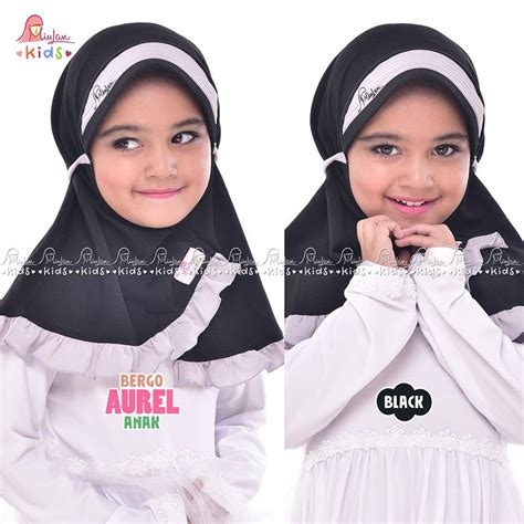Miulan Dress Kaefy Anak bergo anak aurel black miulan boutique