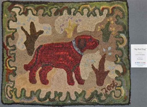 gene shepherd rug hooking 1000 images about hooked rugs animals on folk hooked rugs and wool