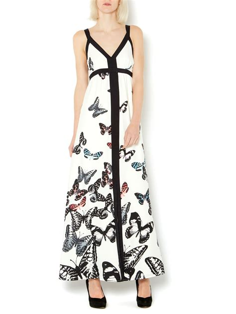Butterfly Maxy Dress Hq therapy butterfly maxi dress house of fraser