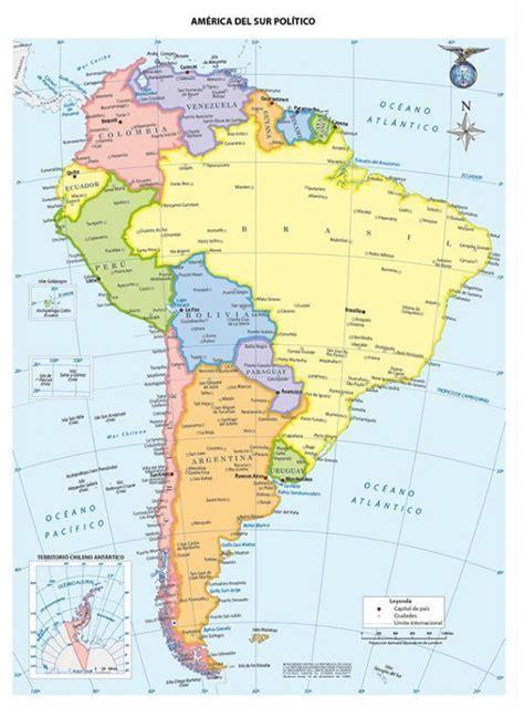imagenes satelitales america del sur 191 cuantos pa 237 ses tiene am 233 rica del sur