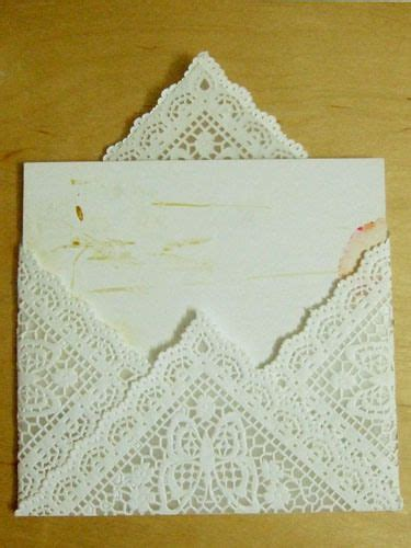 diy lace doily wedding invitations 25 best ideas about paper envelopes on diy