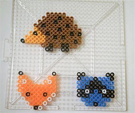 perler bead animals perler animals