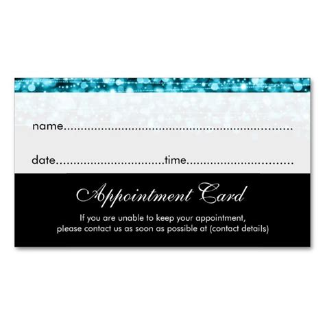 business card appointment template 17 best images about appointment business card templates