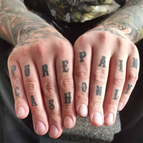 best knuckle tattoos 120 best knuckle designs meanings self