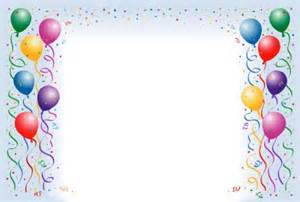 balloon border template free birthday balloons border fantastic frames 25679wall jpg
