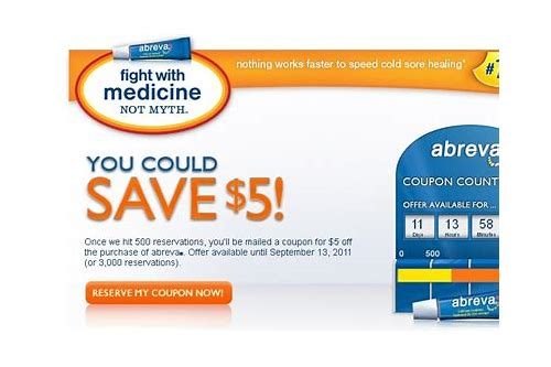 abreva coupons printable 2018