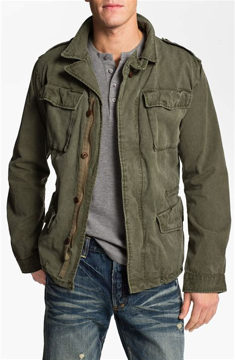 Jaket Army scotch soda jacket in green for army