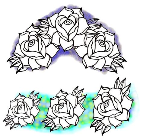 new school tattoo reddit new school roses by bmxninja on deviantart