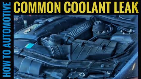repair  common coolant leak   bmw  series
