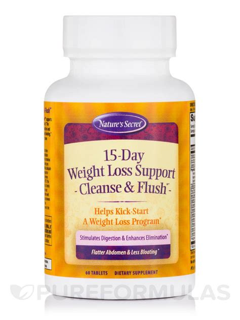 Top 5 Weight Loss Detox Cleanse by 15 Day Weight Loss Support Cleanse Flush 174 60 Tablets