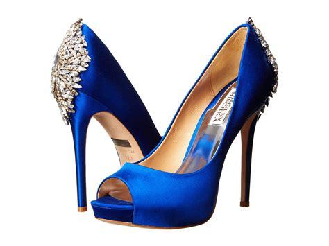 blue high heels for wedding badgley mischka kiara at zappos