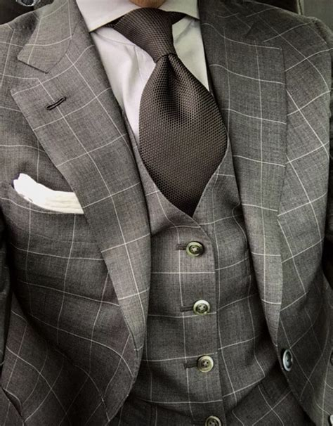 light grey windowpane suit grey windowpane suit s fashion and clothing