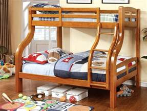 Twin Oak Headboard by Solpine Twin Over Full Bunk Bed