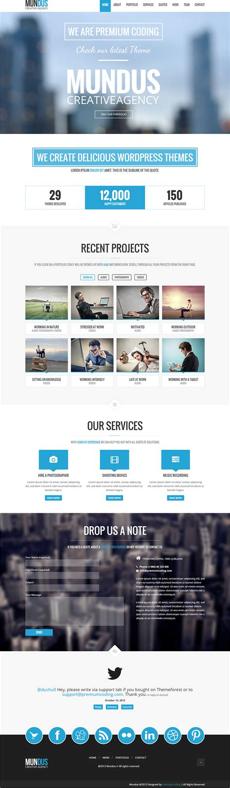 business blog templates free premium themes creative