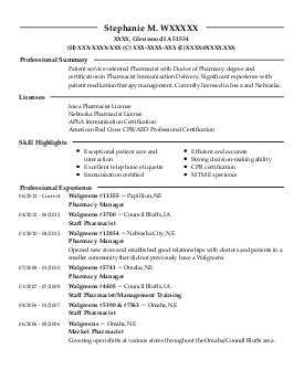 Rite Aid Pharmacist Sle Resume by Pharmacy Manager Resume Exle Rite Aid Pharmacy Bend Oregon