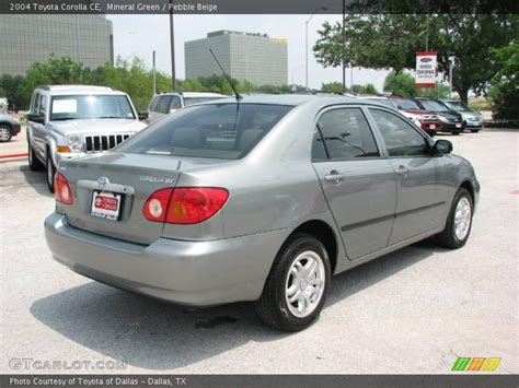 2004 Toyota Ce 2004 Toyota Corolla Ce In Mineral Green Photo No 9049078