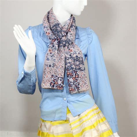 Multi Color Scarf agsc028 multi color floral print s scarf