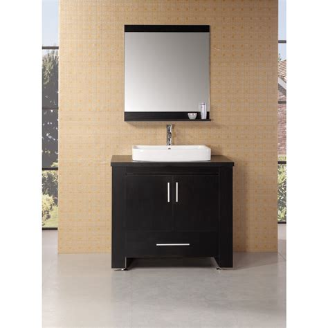 design element bathroom vanities design element washington 36 quot bathroom vanity set