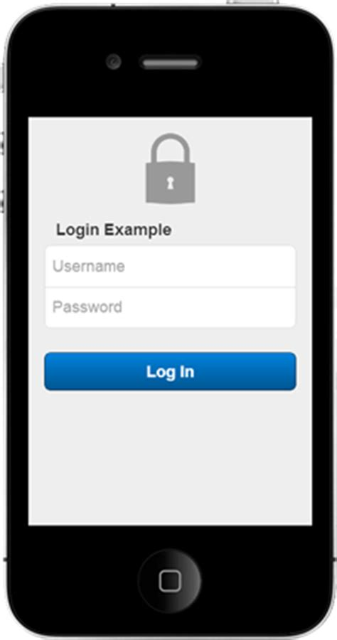 login mobile adding a login screen to a sencha touch application part
