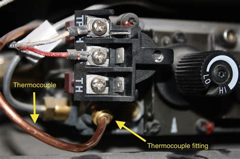 gas fireplace won t stay lit gas fireplace thermocouple wiring thermal coupler for gas