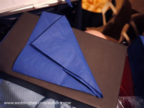 Paper Serviettes Folding - paper napkin folding tutorial weddingbee