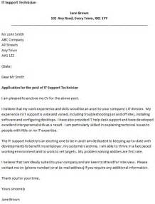 Cover Letter For It Support covering letter for an it support technician icover org uk