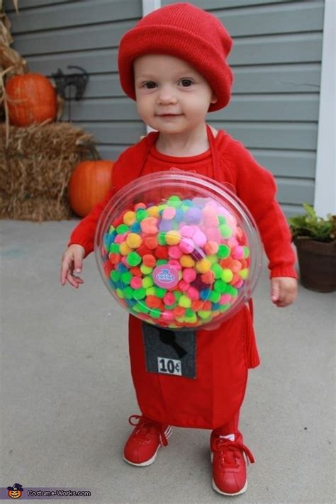 gumballs baby costume halloween babies  diy  crafts