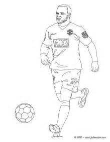 Coloriages Wayne Rooney Fr Hellokids Com