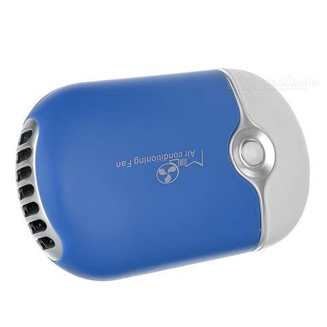 mini air conditioning fan usb 2 0 handheld mini air conditioning fan blue white