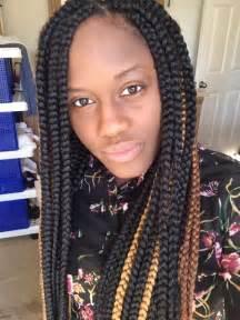 hair styles larger big box braids styles