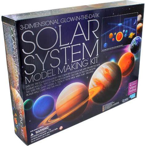 3d Solar System Kit 3d solar system mobile 4m kit by xump