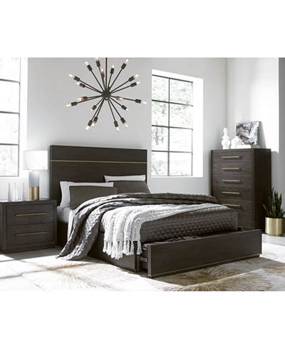 macy bedroom furniture cambridge storage platform bedroom furniture collection