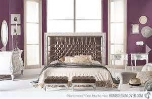 Modern Home Decors 15 vibrant purple bedroom ideas home design lover