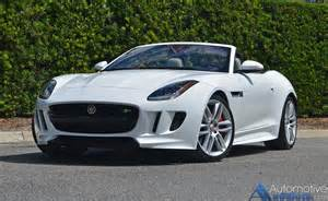 Jaguar F Type Convertable 2017 Jaguar F Type R Convertible Review Test Drive