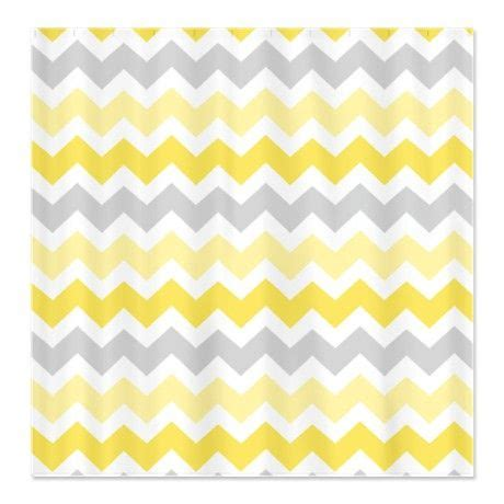 yellow chevron drapes best 25 yellow shower curtains ideas on pinterest