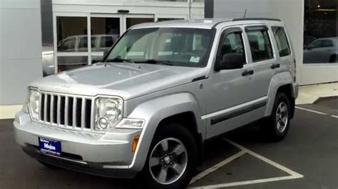 used jeep liberty 2008 used 2008 jeep liberty 4x4 suv best price saco maine