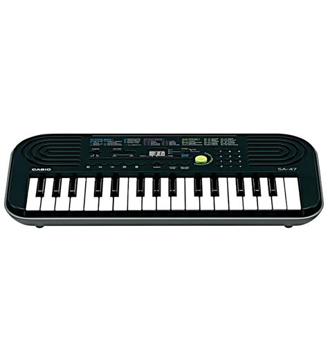 Keyboard Casio Sa 47 casio mini keyboard sa 47 by casio keyboards pianos hobbies pepperfry product