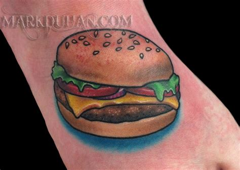 cheeseburger tattoo cheeseburger by amduhan on deviantart