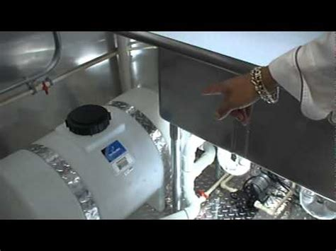 concession trailer: water system and filter youtube
