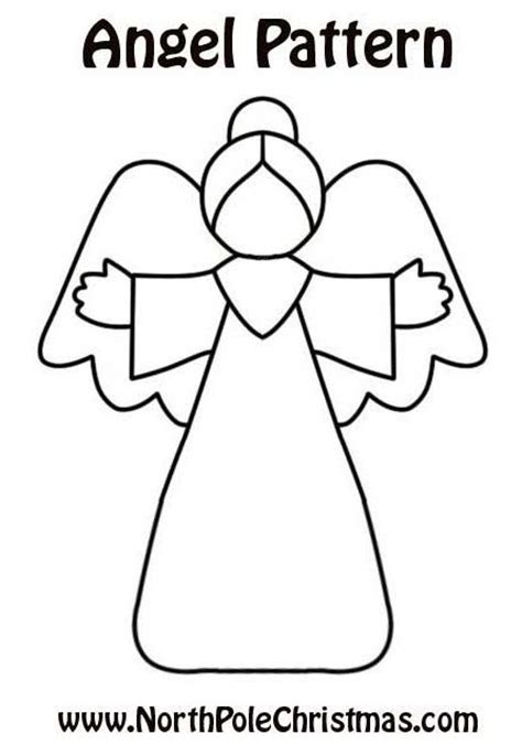 pattern for christmas angel angel 1 pattern print