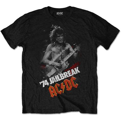 Acdc T Shirt Ac Dc Classic Rock Band T Shirt Size M various ac dc sleeve t shirts official licensed rock