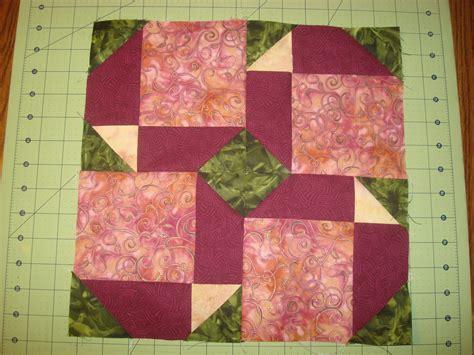 Nine Patch Quilt Blocks by Bunny Quilts Scrap Block Challenge Garden