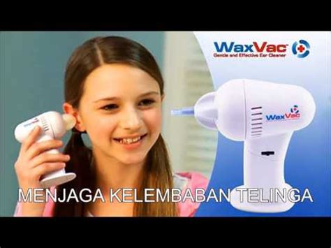 Waxvac Ear Cleaner Alat Pembersih Telinga Waxvax A03 alat pembersih telinga kuping elektrik waxvac ear cleaner