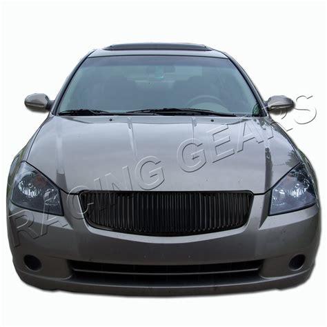 2006 nissan altima jdm buy jdm black vertical abs plastic front hood grill grille