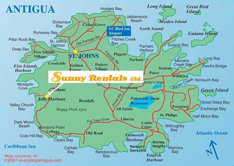 antigua jeep rental popular 182 list map of antigua