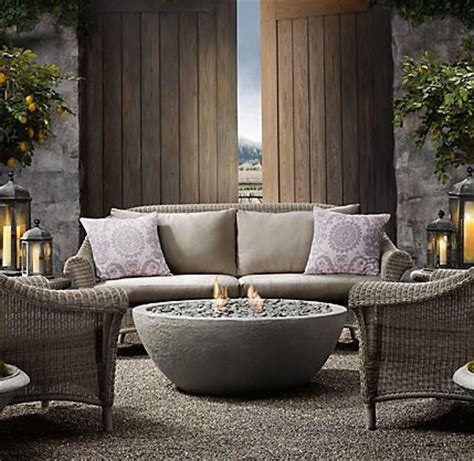 Outdoor Fireplace From Restoration Hardware Restoration Hardware Firepit