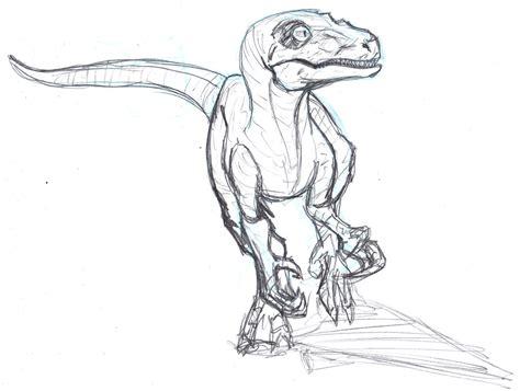 jurassic world dinosaur sketch templates