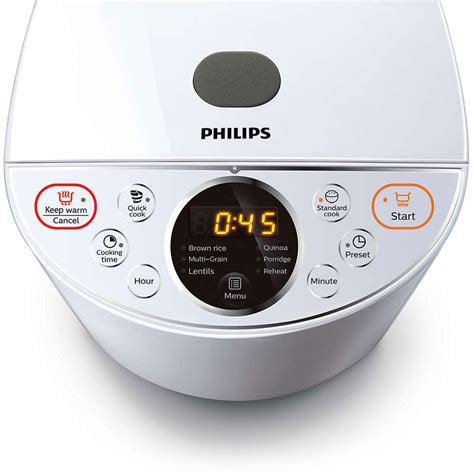 Rice Cooker Philips Daily Collection philips hd4514 4l rice cooker 24h timer daily collection