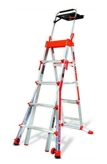 Promo Tangga Telescopic 38 Meter Aluminium Multi Kualitas Mantap aluminum step ladder with 300 lb load capacity type ia duty rating150b the home depot werner 28