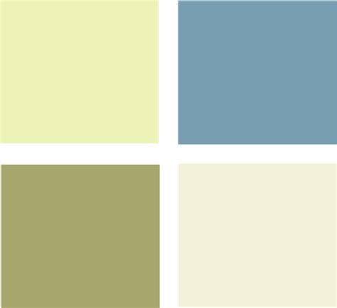 green paint color palette